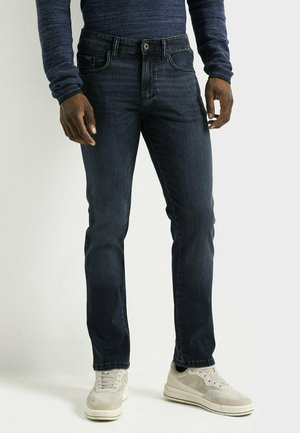 Straight leg jeans - blue/black
