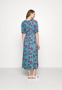 Closet - VNECK DRESS - Day dress - turquoise - 2