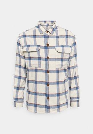 ICON OVERSHIRT CHECK - Summer jacket - beige