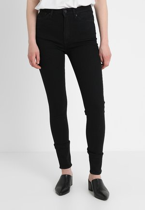 CHRISTINA HIGH - Jeansy Skinny Fit - stay black