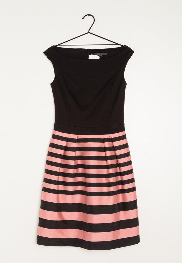 Korte jurk - black pink
