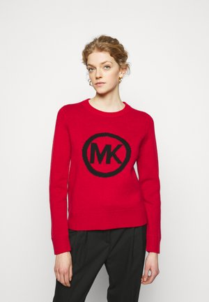 SWEATER - Strickpullover - crimson