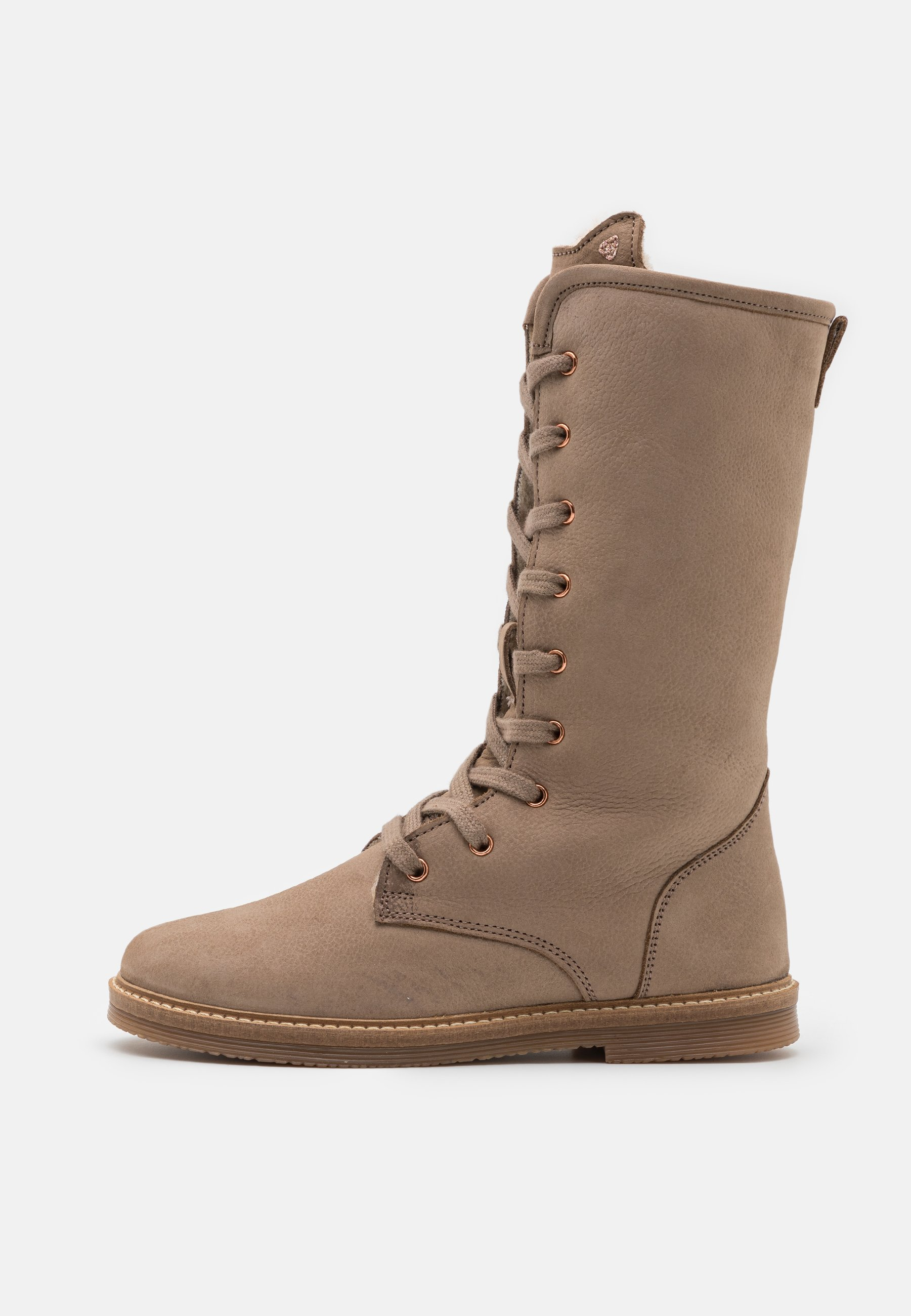 Kids LEATHER - Lace-up boots