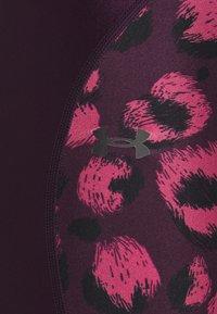 Under Armour - SHINE BIKESHORT - Leggings - polaris purple - 5