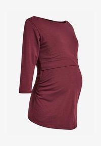 Next - BLEND NURSING - Bluzka z długim rękawem - red - 1