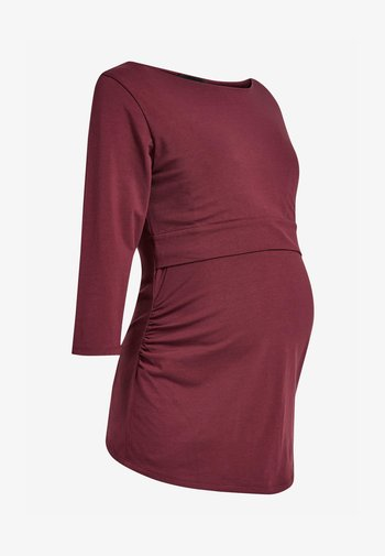 BLEND NURSING - Long sleeved top - red