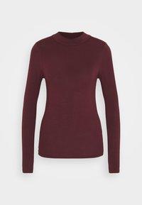TURTLE NECK - Langærmede T-shirts - dark burgundy