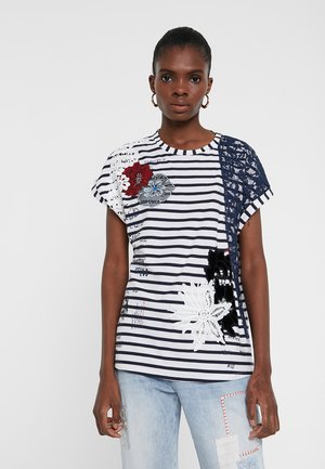 TS_REFRESH - T-shirt con stampa - white