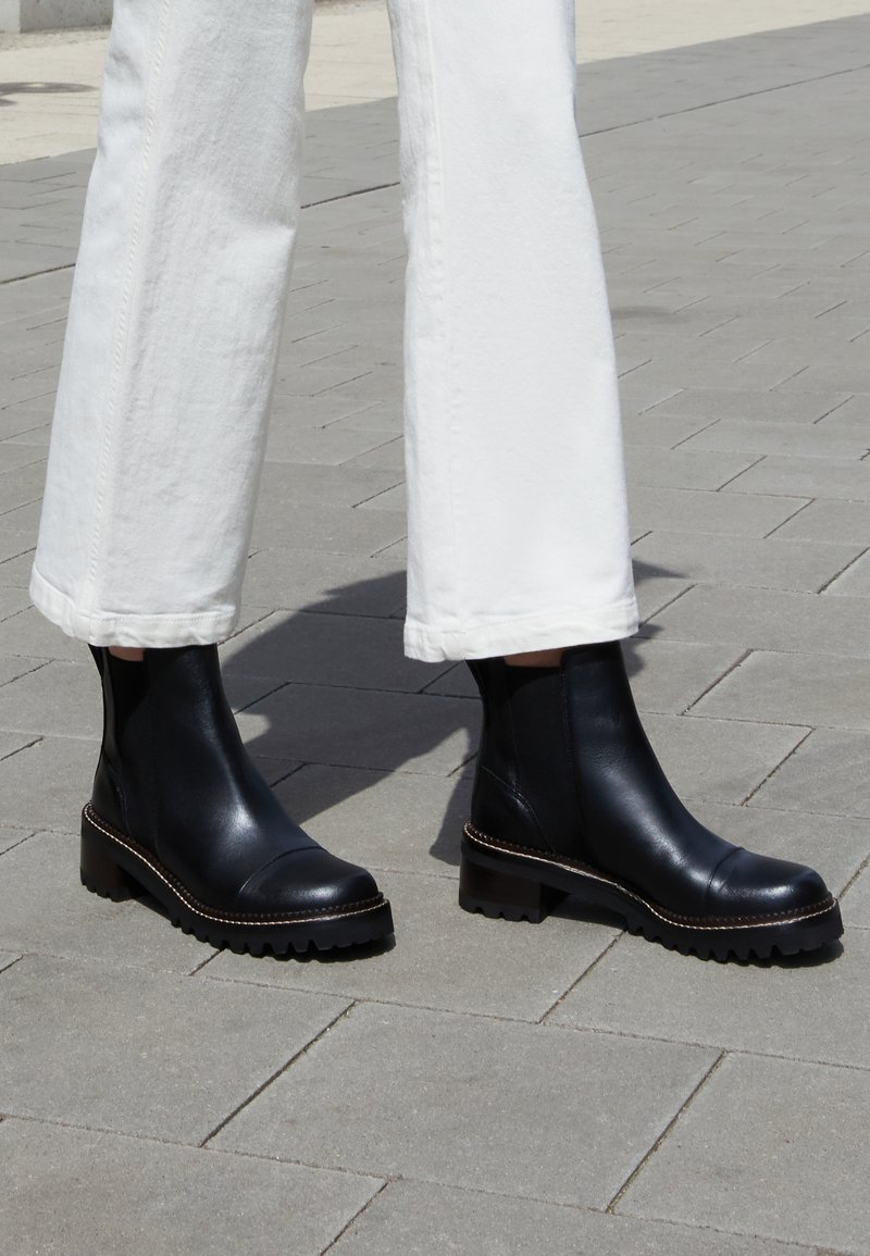 See by Chloé - MALLORY BOOTIE - Classic ankle boots - black