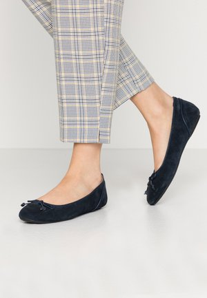 ALYA LEA BOW - Ballet pumps - navy