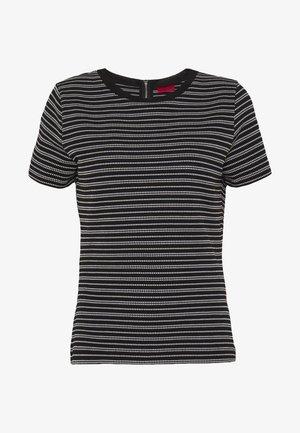 DALITAS - Print T-shirt - black