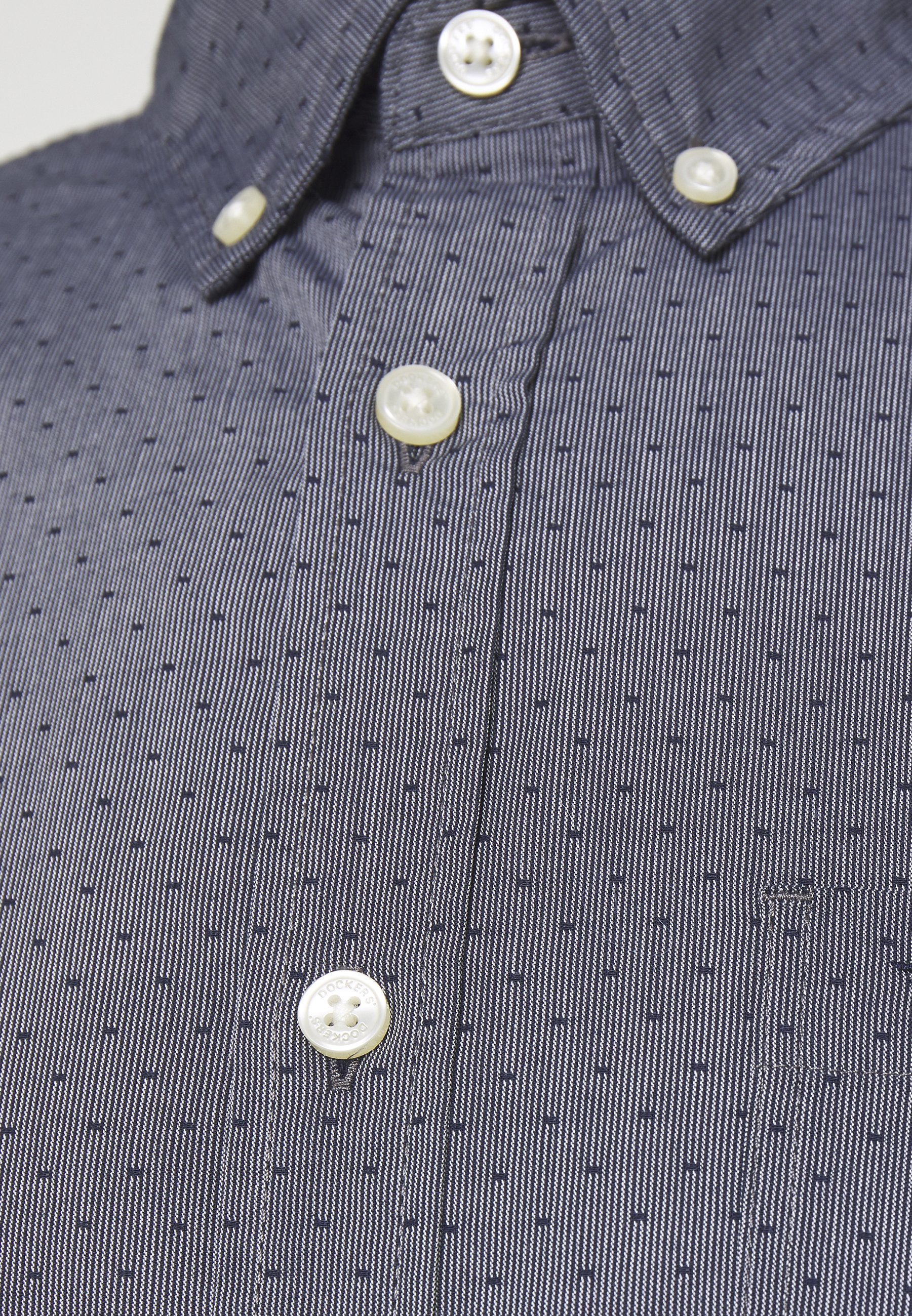 Dockers Alpha Icon - Skjorte Eades Pembroke/blågrå