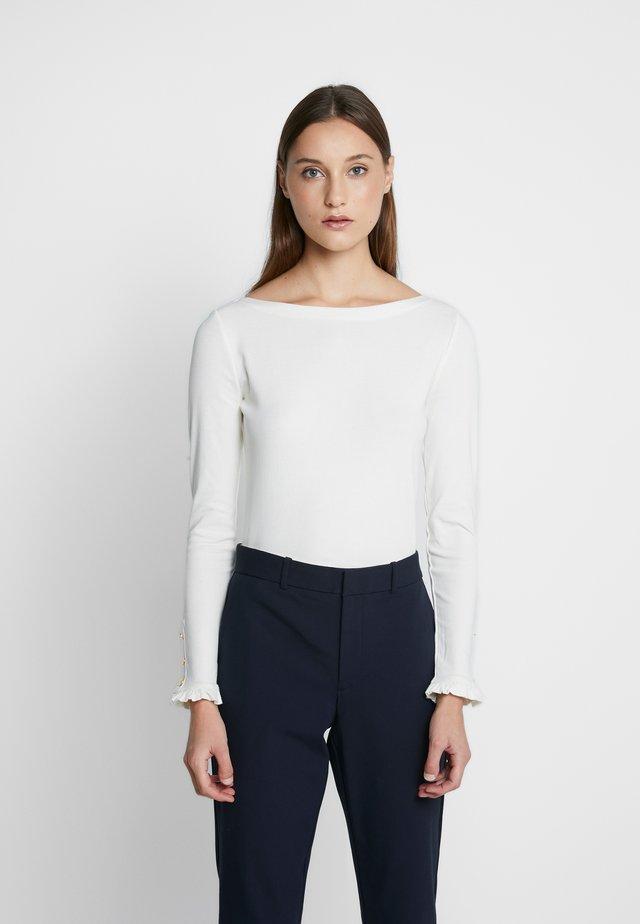 T-shirt à manches longues - mascarpone cream