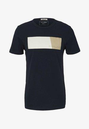 MIT PRINT - Print T-shirt - sky captain blue