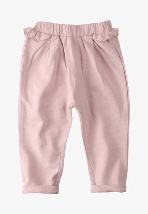 Tracksuit bottoms - light pink
