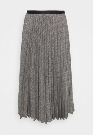 Pleated skirt - multi-coloured