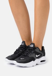 Nike Sportswear - AIR MAX 2X - Sneakers laag - black/white - 0