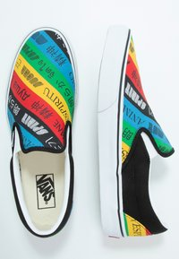 Vans - CLASSIC - Nazouvací boty - multicolor/true white - 1