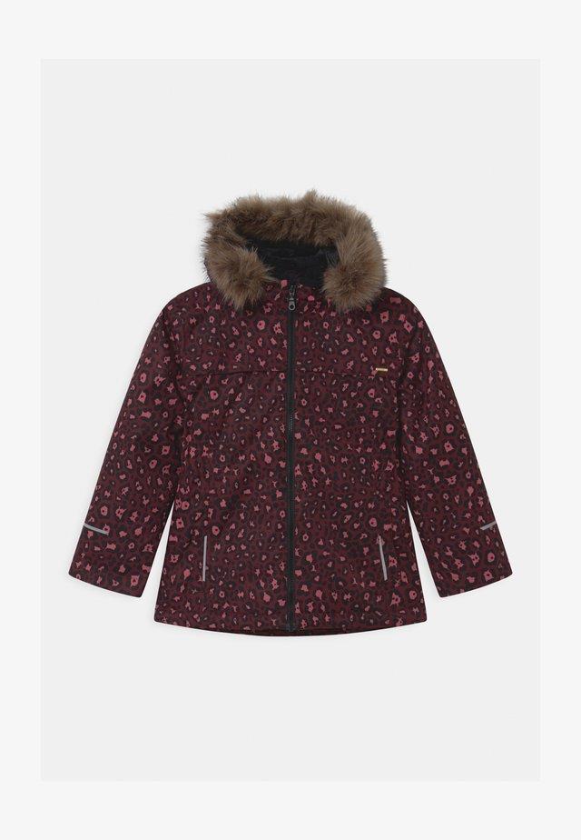 NKFSNOW LEOPARD  - Winter jacket - winetasting