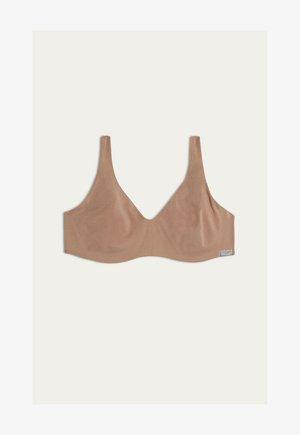 Balconette bra - skin