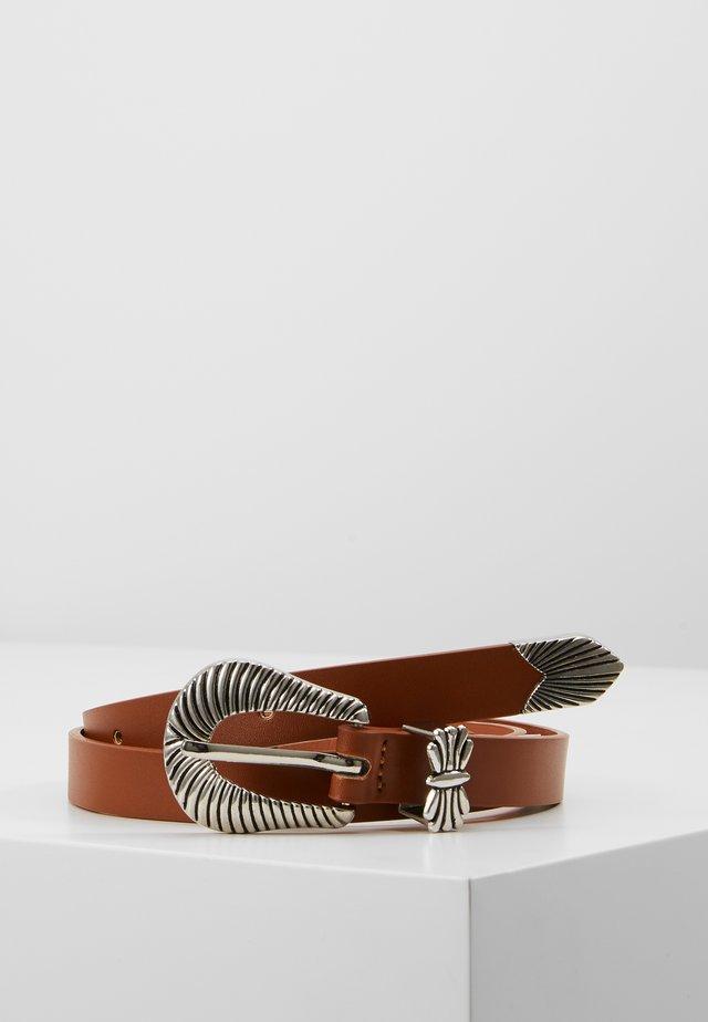 IDA BELT - Pasek - brown