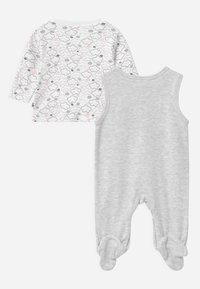 Jacky Baby - WELCOME UNISEX - Pyjama set - grey, white - 1