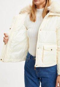 DeFacto - Winter jacket - ecru - 4