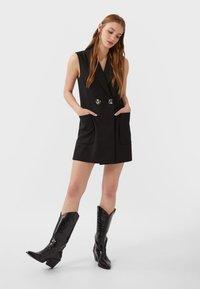 Stradivarius - ELEGANTE  - Day dress - black - 1