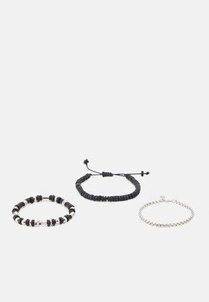 LUXE STRETCH BRACELET COMBO 3 PACK - Bracciale - black