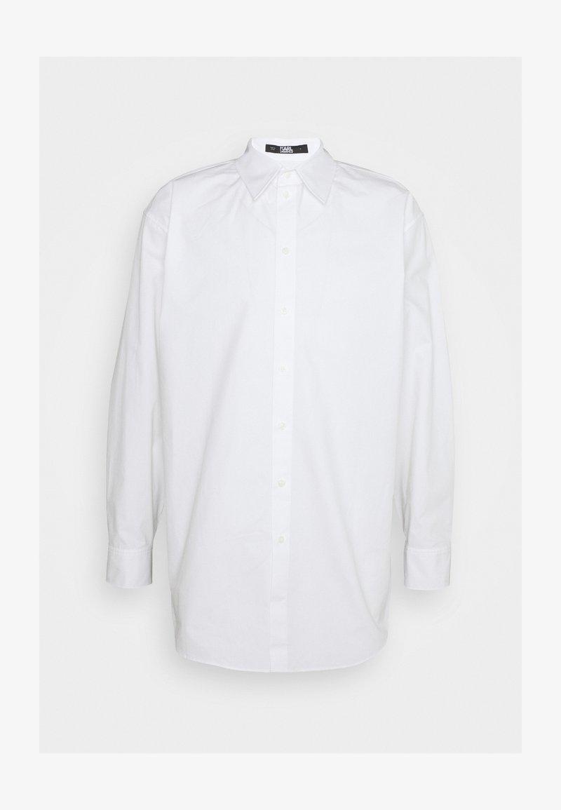 KARL LAGERFELD - SHIRT UNISEX - Skjorta - white