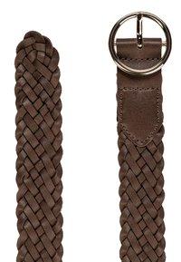 HALLHUBER - Braided belt - noisette - 2
