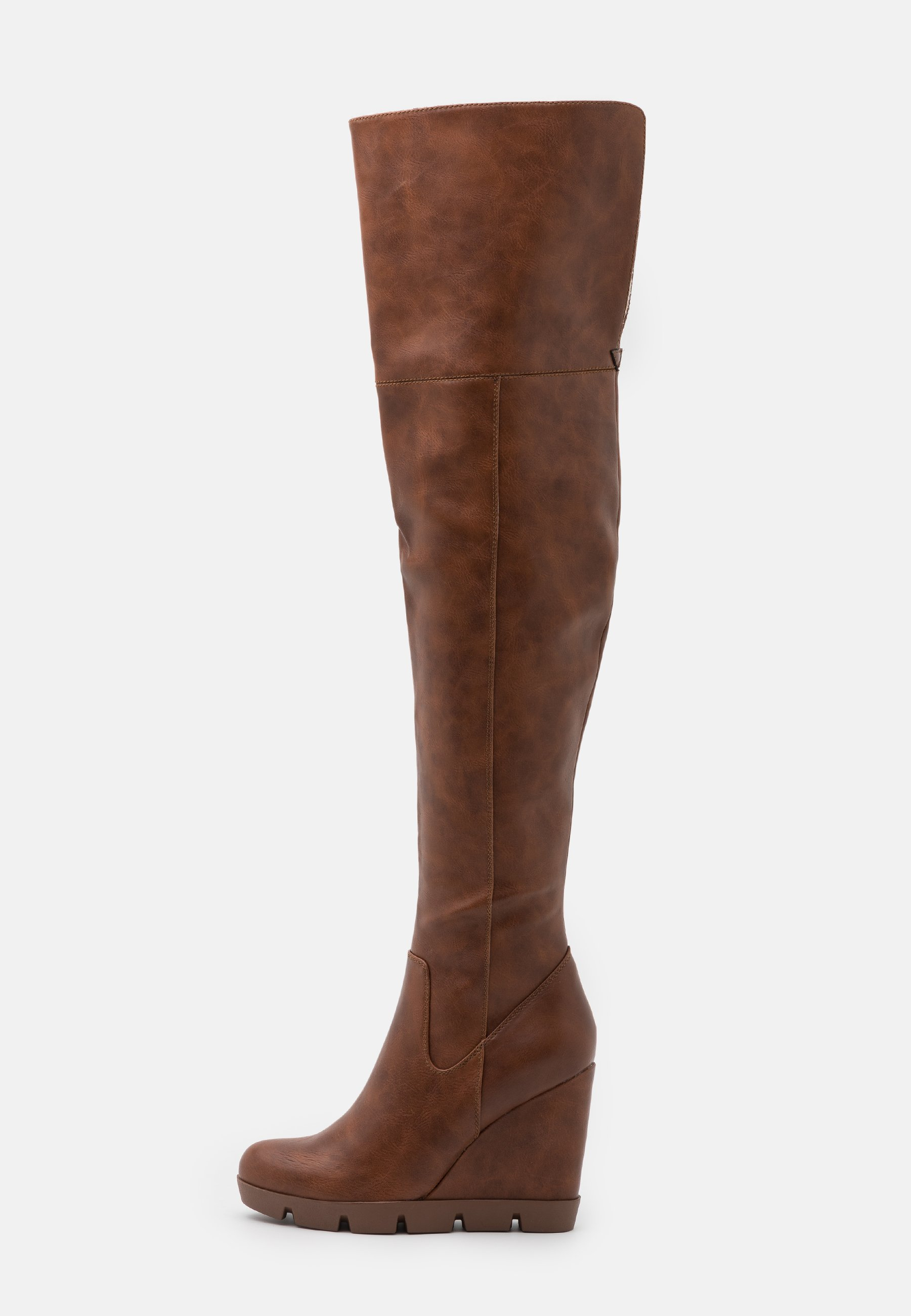 Anna Field High Heel Stiefel - Cognac