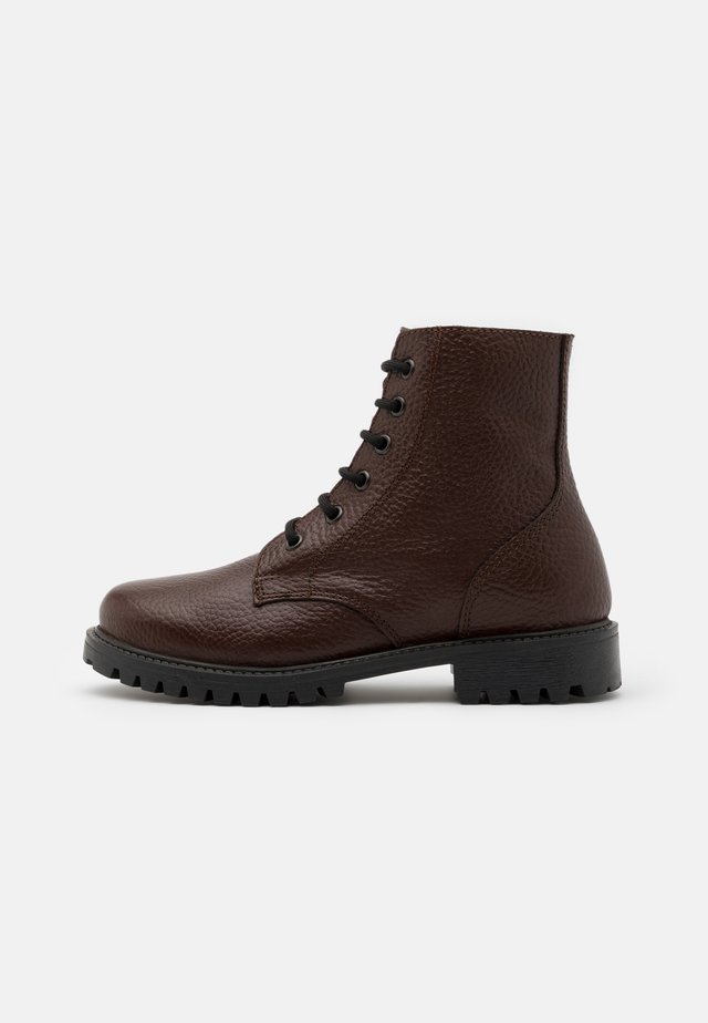 KEFF UNISEX - Lace-up ankle boots - brown