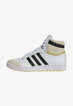 TOP TEN - Sneakers hoog - white