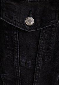 Bershka - Kurtka jeansowa - black - 5