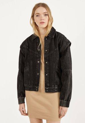 JEANSWESTE 01113590 - Denim jacket - black
