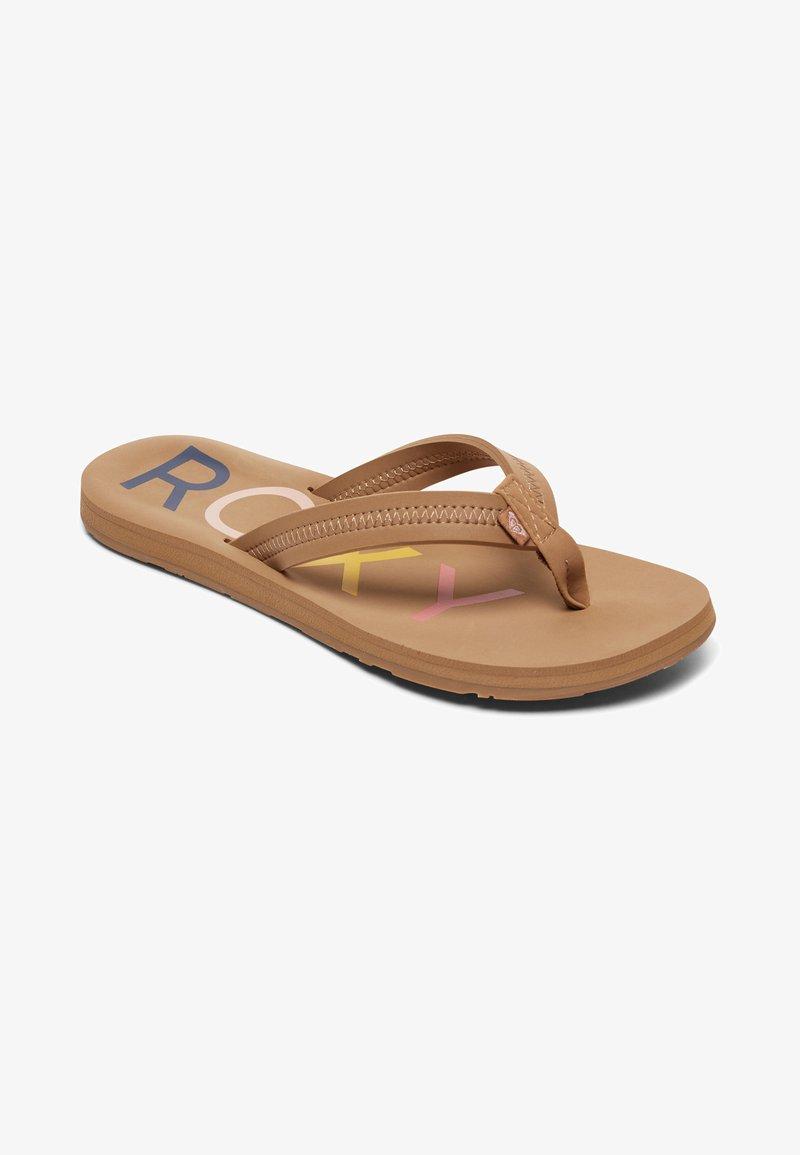 Roxy - VISTA III - T-bar sandals - tan
