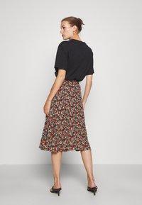 King Louie - CIRCLE SKIRT - A-line skirt - black - 2
