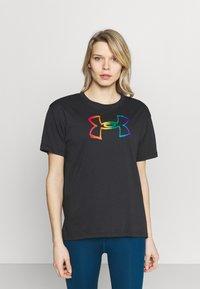 Under Armour - PRIDE GRAPHIC - Print T-shirt - black - 0