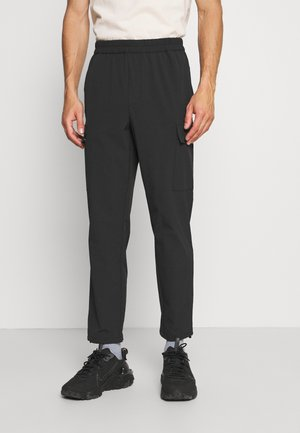 RIPSTOP - Cargo trousers - black