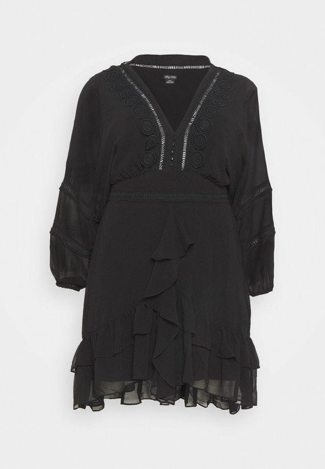 DRESS SWEETHEART - Denní šaty - black