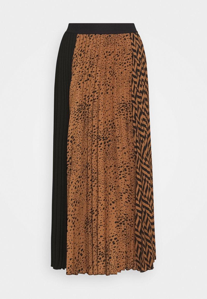 InWear - POLOMAIW SKIRT - A-line skirt - winter beige