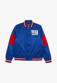 Outerstuff - NFL NEW YORK GIANTS VARSITY JACKET - Pelipaita - rush blue/gym red - 2
