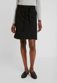 Kaffe - KAJILJA SKIRT - A-line skirt - black deep - 0