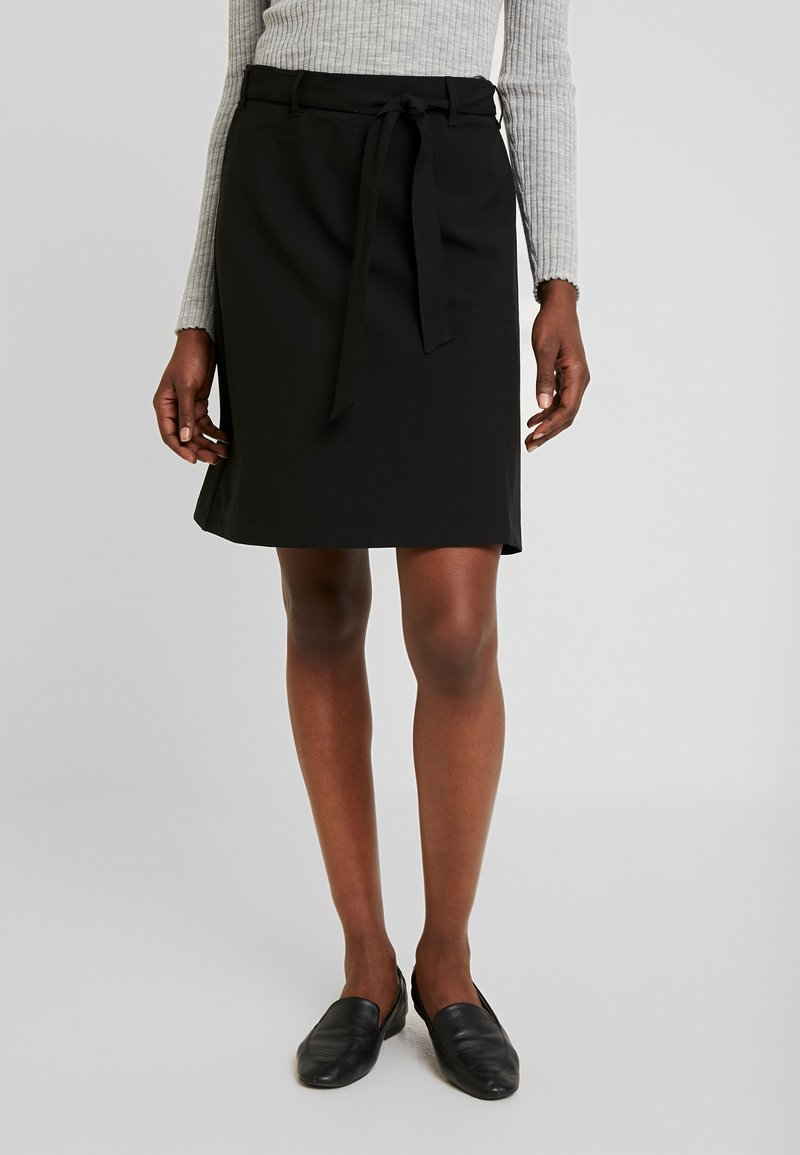 Kaffe - KAJILJA SKIRT - A-line skirt - black deep