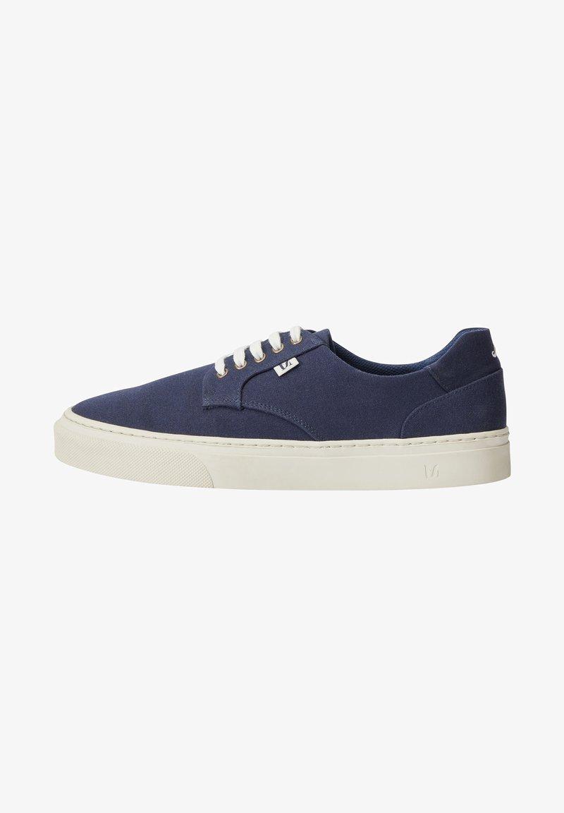 M. Moustache - ALEXANDRE - Sneakers laag - navy blue