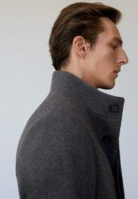 Mango - FUNNEL - Classic coat - grau - 4