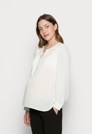 NURSING BLOUSE - Blouse - snow white