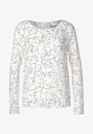 Long sleeved top - weiß