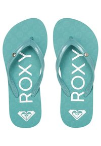 Roxy - ROXY™ SANDY - FLIP-FLOPS FOR GIRLS 8-16 ARGL100286 - T-bar sandals - pacific blue - 0